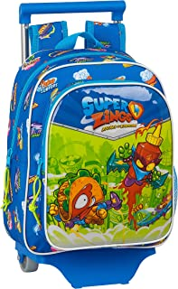 Mochila Infantil de Superzings Serie 5 con Carro 705 , 270 x 100 x 330 mm, Color Azul