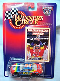 Winner's Circle 1:64 Scale #24 Jeff Gordon DuPont Million Dollar Winner Car