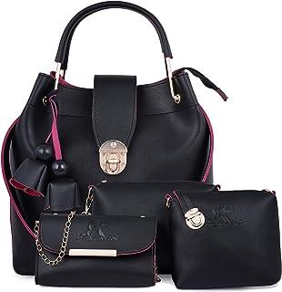 Speed X Fashion Women Sling Bag & Handbag With Combo (Set of 4)