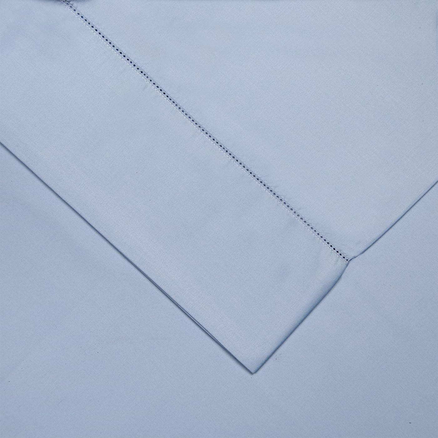 軍隊最悪手配するPointehaven 800 Thread Count Pima Cotton Pillowcases, Standard, Blue