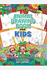 The Animal Drawing Book for Kids: How to Draw 365 Animals, Step by Step (Woo! Jr. Kids Activities Books) Kindle Edition