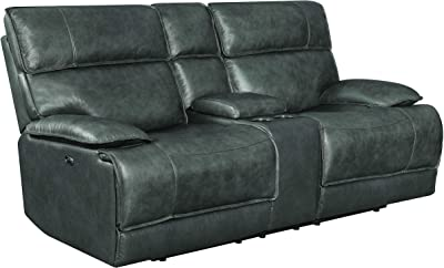 Fine Amazon Com Coaster Stanford Leather Power Reclining Sofa Ocoug Best Dining Table And Chair Ideas Images Ocougorg