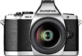 OLYMPUS ミラーレス一眼 OM-D E-M5 レンズキット シルバー 1605万画素 防塵 防滴 OM-D E-M5 LKIT SLV