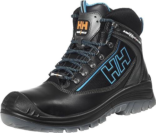 Helly Hansen Workwear 78255 - Seguridad Stiefel S3 Vika Mediados Tex schuhe de alta tecnología, el tamaño de cuero schwarz 43