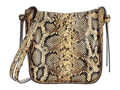 Loeffler Randall Mackenzie Turned Out Crossbody with Knot (Sahara) Handbags
