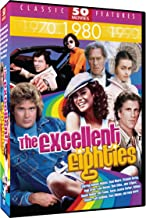Excellent Eighties - 50 Movie Pack: Bail Out - Hunk - Cave Girl - My Chauffeur - Toby McTeague - Tomboy - Night of the Sharks - The Kidnapping of the President + 42 more!