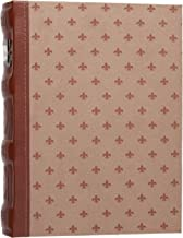 Bellagio-Italia DVD Storage Binder, Cognac - DVD Case Holds Up to 48 DVDs, CDs, or Blu-Rays - CD Holder Protects DVD Cover...