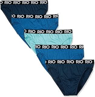 Rio Men's Underwear Cotton Hipster Brief (5 Pack)
