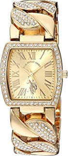 U.S. Polo Assn.  USC40205 Women's Quartz Watch, Analog Display and Stainless Steel Strap