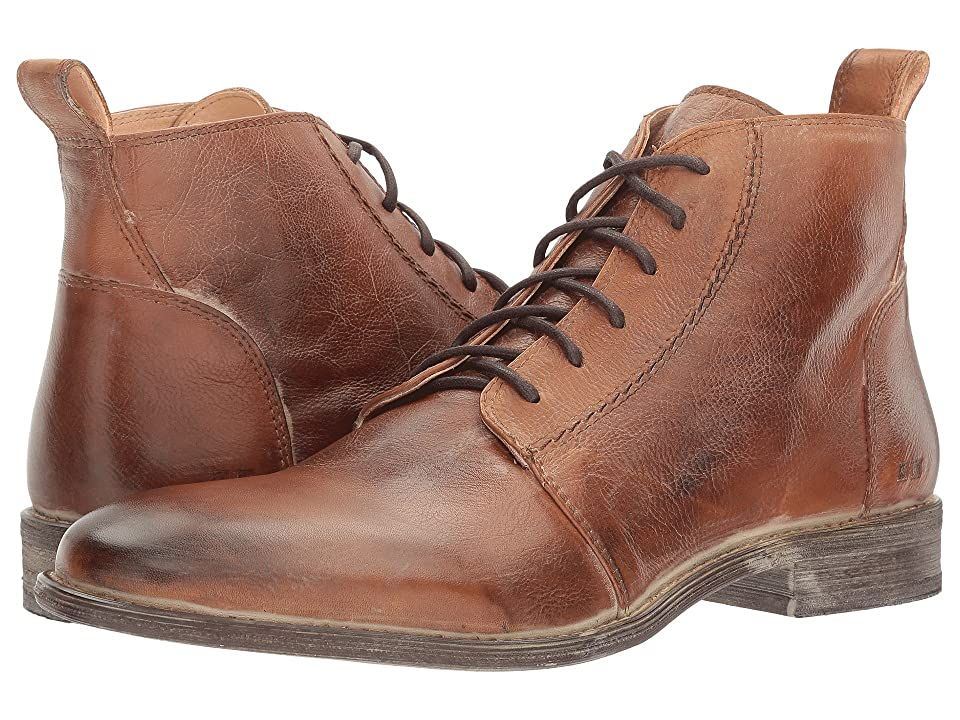 1920s Style Mens Shoes | Peaky Blinders Boots Bed Stu Louis Tan Glove White BFS Leather Mens Shoes $185.00 AT vintagedancer.com