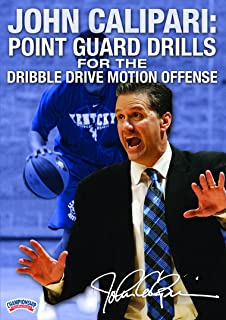 John Calipari: Point Guard Drills for the Dribble Drive Motion Offense (DVD)