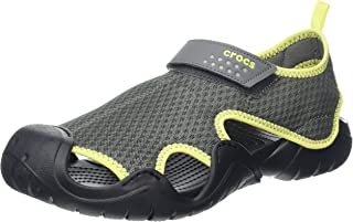 Crocs Mens Swiftwater Sandal Espresso/Espresso
