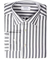 Eton - Contemporary Fit Bold Stripe Button Down Shirt