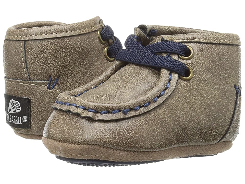 M&F Western Kids Smith (Infant/Toddler) (Brown/Navy) Boys Shoes