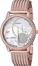 GUESS Women's Stainless Steel Connect Fitness Tracker Watch