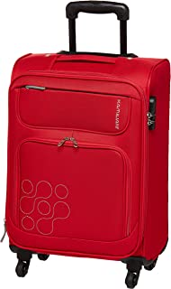 Kamiliant by American Tourister Himba Softside Spinner Luggage 53cm with 3 digit Number Lock - Red