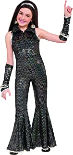 Forum Novelties Child's Disco Costume Jumpsuit, Large