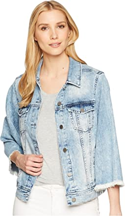 Bell Sleeve Jean Jacket