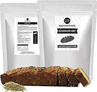 MITOBACK - Kürbiskern Brot á 247 g - Low Carb Eiweiß Brotbackmischungen - Lowcarb Kürbiskernbrot - Eiweißbrot Brotbackmischung: Glutenfrei, Kohlenhydratarm, Vegan, Hefefrei, ohne Zucker und Mehl