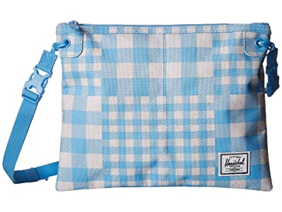 Herschel Supply Co. Alder (Gingham Alaskan Blue) Cross Body Handbags