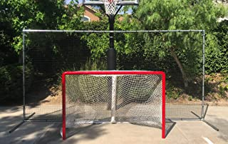 Krusader Ultimate Hockey Backstop (14 feet Wide x 7 feet Tall)