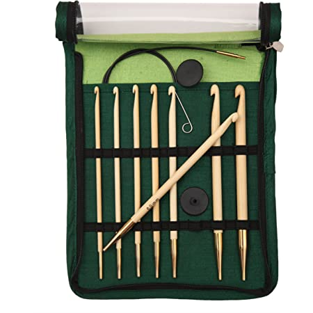 KnitPro Kit de Tricot en Bambou Aaghan/Tunisien