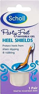 Valley Sundries Scholl Party Feet Heel Shields