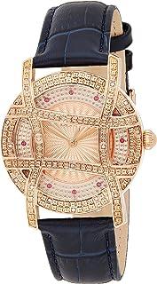 JBW Womens Quartz Watch, Analog Display and Leather Strap (Model: J6377B)