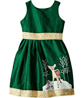 fiveloaves twofish - Fawn of Winter Dress (Toddler/Little Kids/Big Kids)