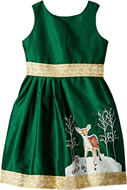 fiveloaves twofish - Fawn of Winter Dress (Toddler/Little Kids/Big Kids)