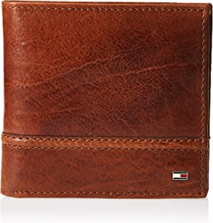 Men's Leather Wallet - RFID Blocking Slim Thin Bifold with Removable Card Holder and Gift Box, Tan Brevin
