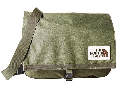 The North Face Berkeley Satchel (Four Leaf Clover Dark Heather/New Taupe Green Dark Heather) Satchel Handbags