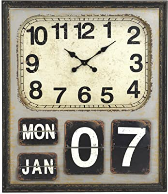 Amazon Com Large Number Wall Hanging Flip Clock