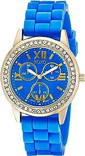 XOXO Women's XO8082 Analog Display Analog Quartz Blue Watch