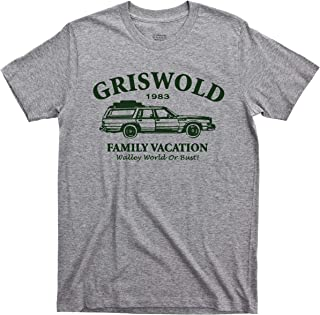 Griswold Family Vacation T Shirt Walley World Or Bust 1983 National Lampoon's Vacation 80s Comedy Movie Tee