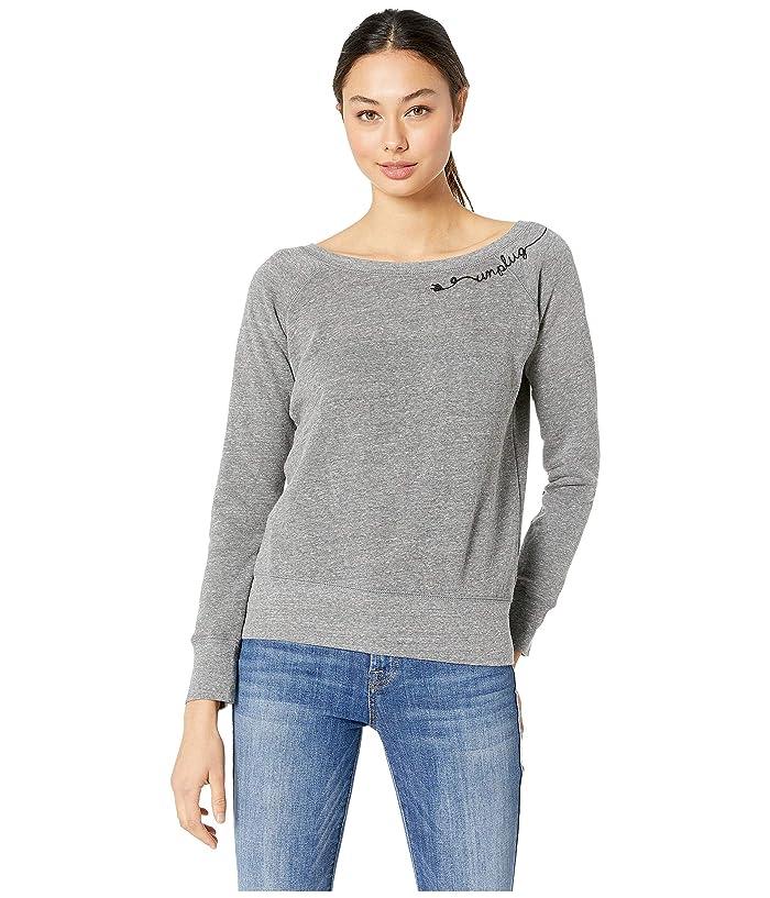FOR BETTER NOT WORSE Unplug Chill Sweater (Burnt Grey) Women