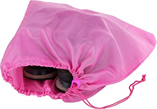 Suvelle Travel Shoe Bag, With Drawstring Closure, Water-Resistant Nylon Fabric, Shoe Storage Bag Cover Pouch, One Size Fits All