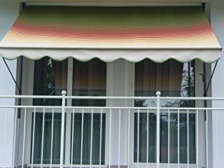 Angerer/ 500 Giallo /Tenda da Sole 150/x 150/x 225/cm Design n /Tendone,/ 2314//500