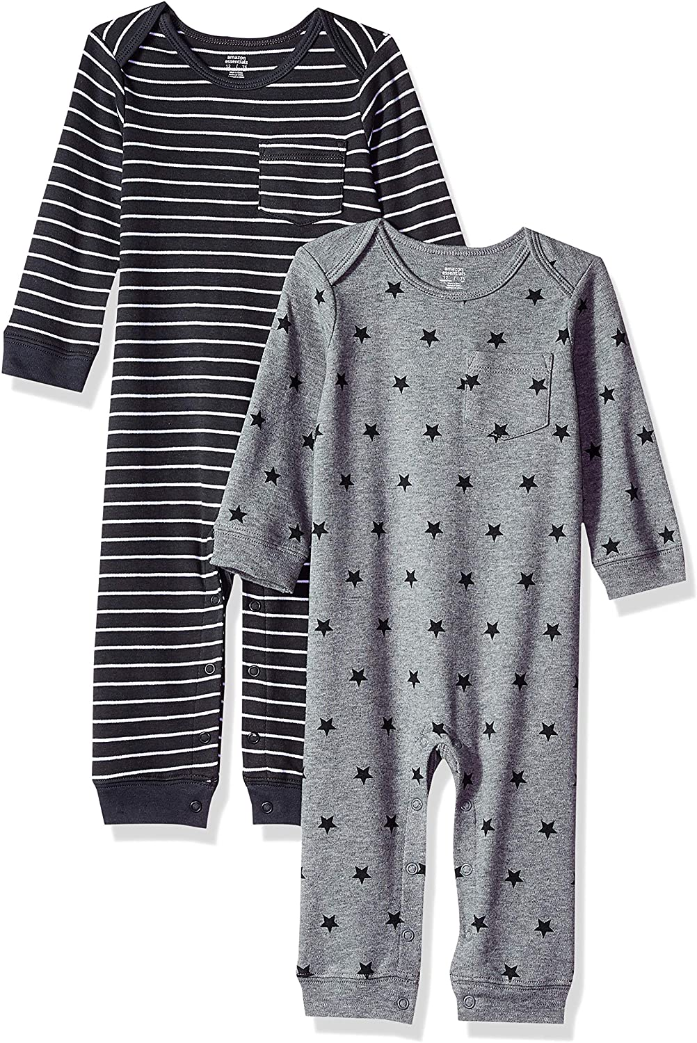 Essentials Baby Infant 2-Pack Coverall