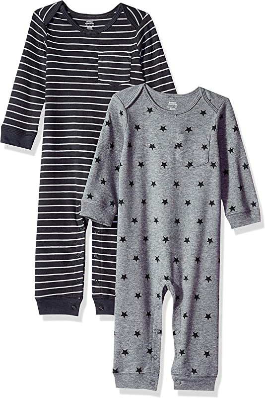 Amazon Essentials Baby 2 Pack Coverall