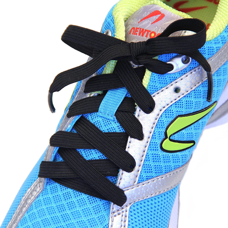 Slacklace Elastic Shoelaces - Flat Re-Tie National uniform free shipping La No Lock Lace Fees free