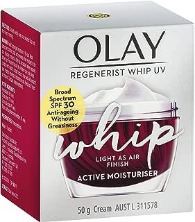 Olay Regenerist Whips Face Cream Moisturiser UV SPF 30 50 g