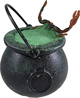 Halloween Bath Bombs Witches Brew Cauldron GREEN Fizzy and Bubble 7 oz. Bath Bombs with Surprise Scary Toys Inside For Kids! Halloween Gift!