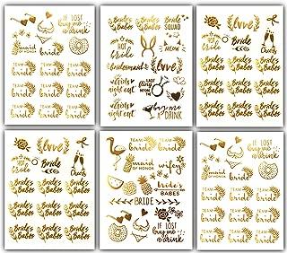 Bachelorettesy Tropical Bachelorette Tattoos - 100 Bridal Party Tattoos