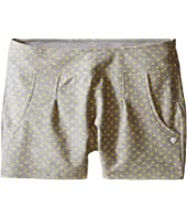 Armani Junior - Shorts with Yellow Hearts (Big Kids)