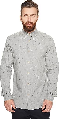 Ben Sherman - Long Sleeve Brushed Conversational Shirt