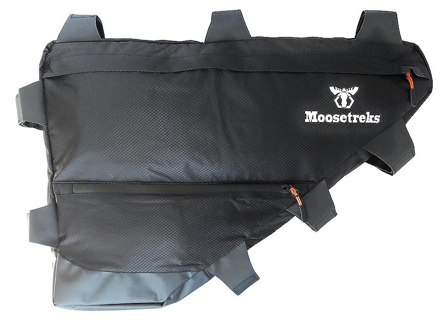 批判的に無限首謀者Moosetreks バイクフルフレームバッグ | バイクパッキング バイク ツーリング 通勤 フルフレームバッグ | 6サイズ/幾何学ツアー/ロード トレイル/マウンテン S M L