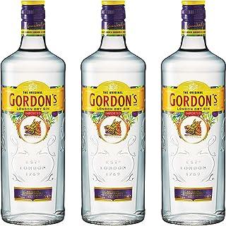 Gordon´s London Dry Gin Alkohol, 3er, Alkohlgetränk, Getränk, Flasche, New Design, 37,5%, 700 ml, 721484