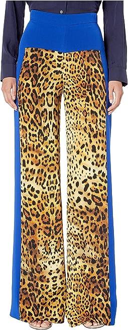 Tan Leopard/Indigo