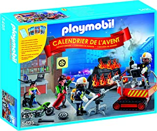 PLAYMOBIL® Advent Calendar Fire Rescue Operation Set with Card Game